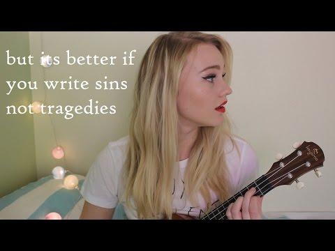 But it's Better if You Write Sins not Tragedies - Panic! Ukulele Mashup