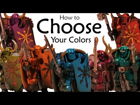 A Practical Technique to Pick a Color Scheme for Your Warhammer Army!