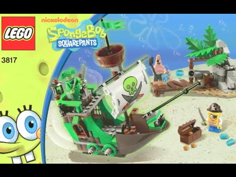 How To Build Lego Spongebob Squarepants 3817 The Flying Dutchman