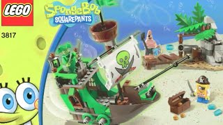 How To Build- Lego Spongebob Squarepants 3817: The Flying Dutchman - Instructions