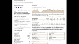 Mutual Fund Fact Sheet Review