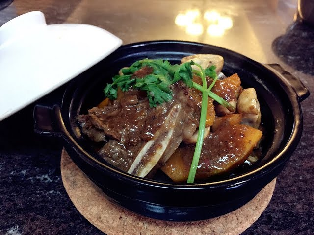 ????????[?????????]-??????????Pumpkin Beef Short Ribs Claypot In Bean Sauce