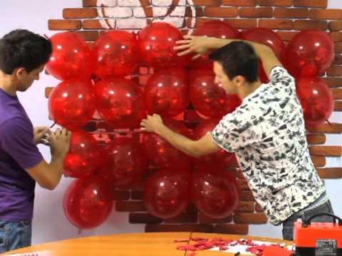 3D Сердце из шаров своими