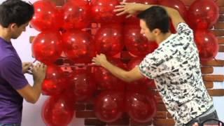 3D Сердце из шаров своими руками (Balloon 3D Heart)(Украшение шарами 2 сезон 1 часть Как самостоятельно украсить воздушными шарами! Сердце из шаров своими..., 2013-06-25T09:36:07.000Z)