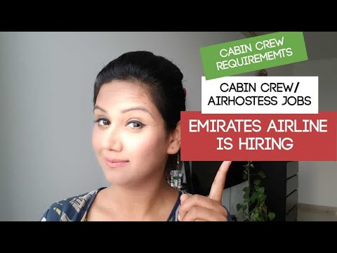 Cabin Crew/Air hostess Jobs-EMIRATES airline DUBAI requirements by Mamta Sachdeva