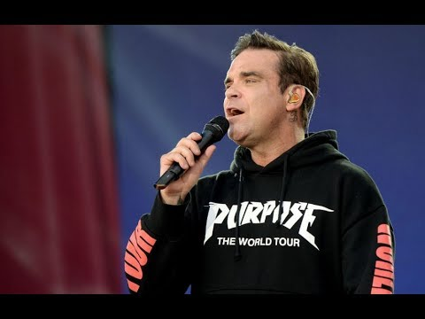 One Love Manchester - Robbie Williams' performance 'Manchester We're strong'