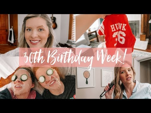 3-DAY 30TH BIRTHDAY WEEK VLOG! Baby Clothes, Spa Night, and Collaborations