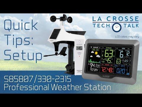 S85807/330-2315 Quick Tips: Setup