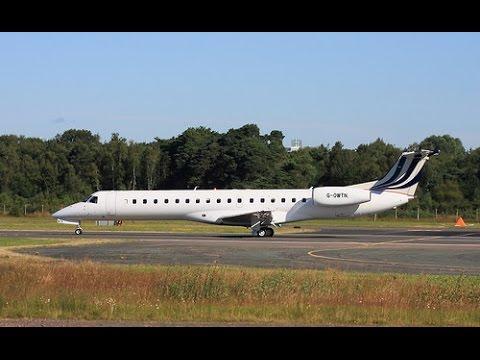 BAe Systems - G-OWTN Embraer EMB-145 @ Warton Aerodrome