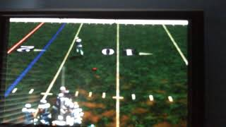 ESPN NFL 2k5 (PS2) - confusing play