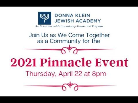 The Pinnacle Event - Donna Klein Jewish Academy