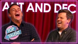FUNNIEST Ant And Dec Moments On Britain's Got Talent! | Top Talent