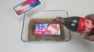 iPhone X vs Coca Cola TEST