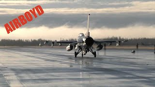 F-16s At Eielson AFB (2013)