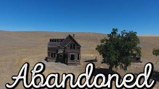 HAUNTED LOOKING FARM HOUSE! OREGON!