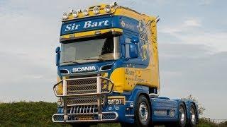 Scania R580 V8 Streamline Sir Bart van der Linden Special - Interior (HD)