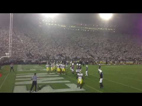 We Are Penn State + We Love Ya + Game-Tying TD + Zombie Nation - PSU vs. Mich 10/12/13
