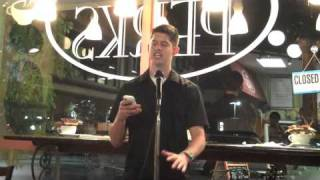 The Star by Hunter March at NWP's Open Mic