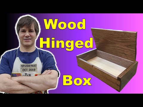 Rob Cosman's Wood Hinge box build
