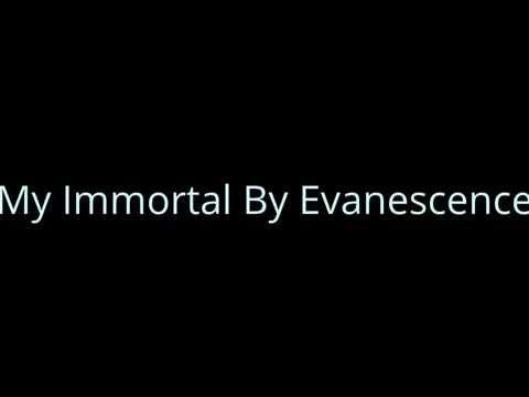 My Immortal By Evanescence (Lyrics Link in Description)