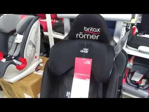 Britax Romer Advansafix IV R - флагман, новинка 2018 года