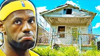 5 NBA Players That Came From NOTHING.. (LeBron James, Carmelo Anthony, Giannis Antetokounmpo)