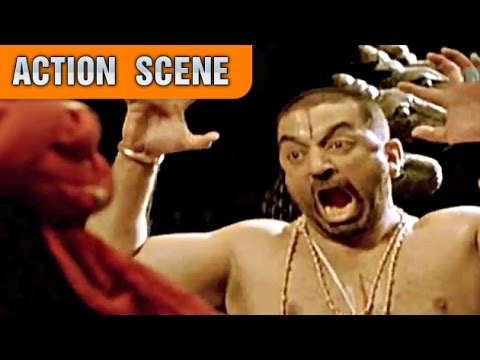 Kamal Haasan Saves Lord Vishnu | Action...