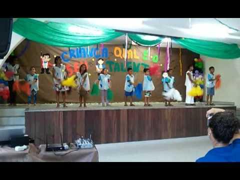 Coreografia Infantil - Amiguinho Carrossel