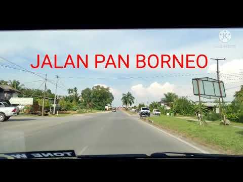 PAN BORNEO , BINTULU KE KAMPUNG PENAN MUSLIM #PanBorneo #Sarawak #Maju