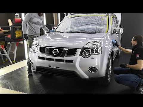 Nissan X-Trail, после полировки и нанесения составов Ceramic Pro. Тюмень