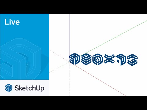 Modeling the SketchUp Logos in SketchUp Live!