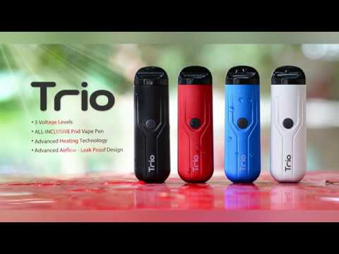 Yocan Trio Refillable 3-in-1 Pod System Vape Pen