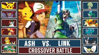 Ash vs. Link (Pokémon Sun/Moon) - Legend of Zelda/Pokémon Crossover