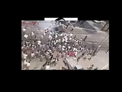 Atropellan a estudiantes en Guatemala