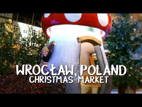 Christmas Market in Wrocław, Poland