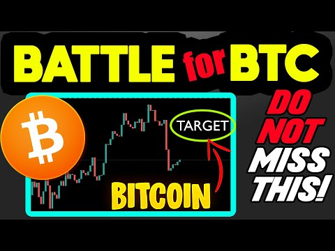 MUST SEE! BITCOIN IS AT THE BRINK OF A BREAKOUT IF BTC BULLS CAN DO THIS ONE THING…