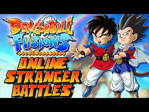 ONLINE IS DOPE AF?! Dragonball Fusions 3DS [ENG] ONLINE Stranger Battles GAMEPLAY!