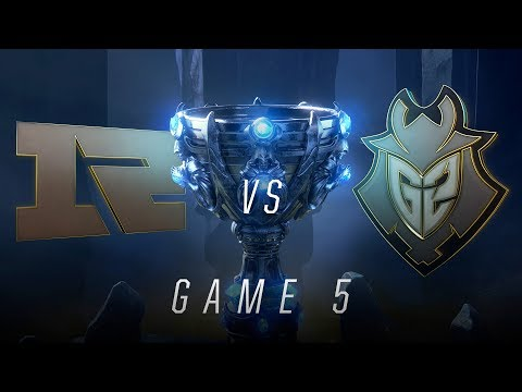 RNG vs G2   Quarterfinal Game 5   World Championship   Royal Never Give Up vs G2 Esports (2018)
