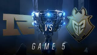 RNG vs G2 | Quarterfinal Game 5 | World Championship | Royal Never Give Up vs G2 Esports (2018)