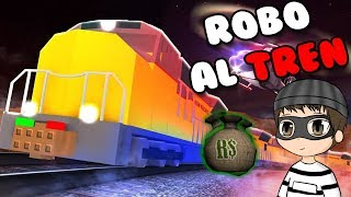 AS ROB THE TRAIN AND NEW FORM OF ESCAPE | JailBreak roblox in Spanish