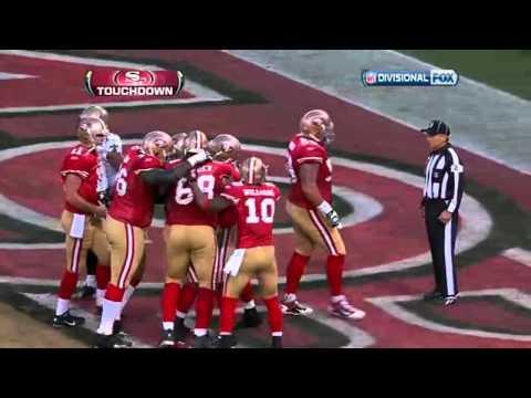 49ers Vs Saints - Vernon Davis TD KNBR call