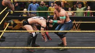 WWE 2K20 Roman Reigns John Cena Vs Finn Balor Demon Bray Wyatt Tag Team Gameplay HD