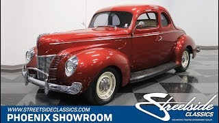1940 Ford Deluxe Coupe For Sale |  286-PHX