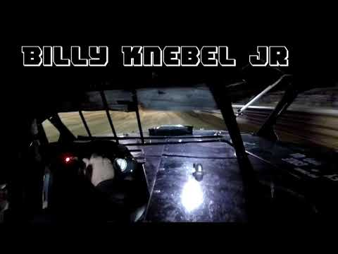 In Car Cam of Billy Knebel Jr at Fayette County Speedway 9 2 18