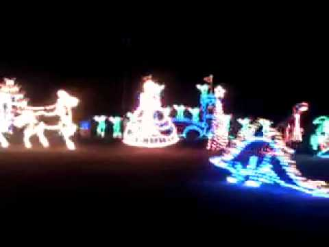 Christmas light show at Ocean City Maryland - YouTube