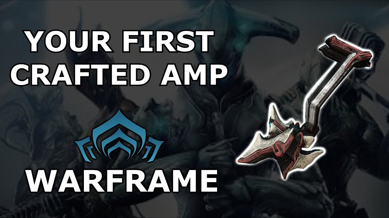 also warframe quick look at the first crafted amp clipzui rh