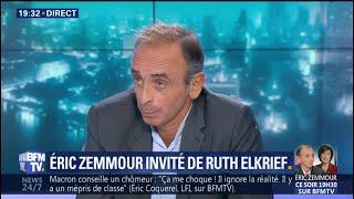 Menacé de plainte, Éric Zemmour dénonce