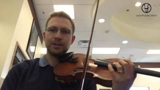 D Major Scale for Violin (One Octave)