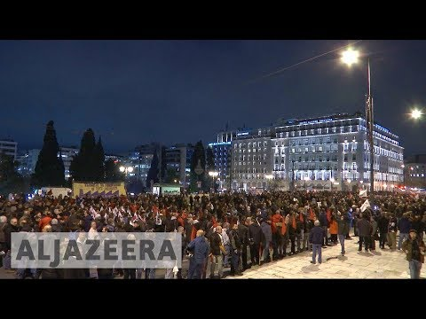 Greek parliament approves more austerity measures in bailout bid