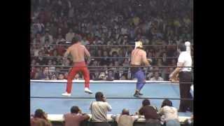 【覆面剥ぎ】タイガーマスク vs 小林邦明 1982.11.4 蔵前国技館.